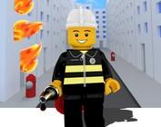 Brandweer speelgoed bouwstenen