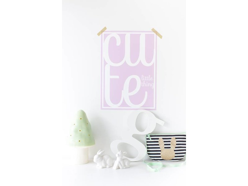 Sparkling Paper poster cute little thing pink