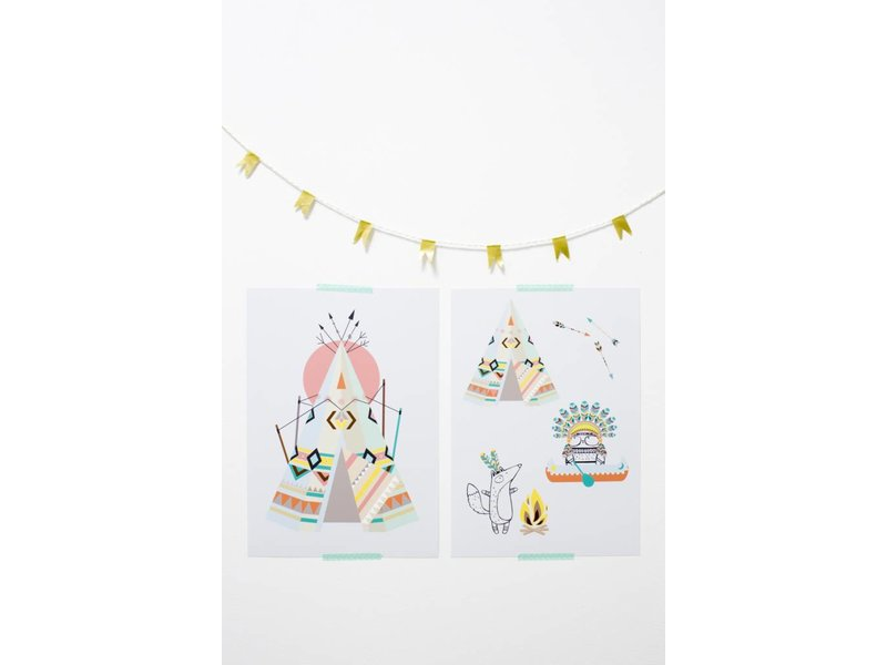 Sparkling Paper poster indian friends