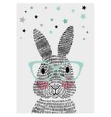 Sparkling Paper 10 postkaarten mr. rabbit