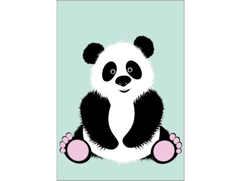 Sparkling Paper poster panda friend
