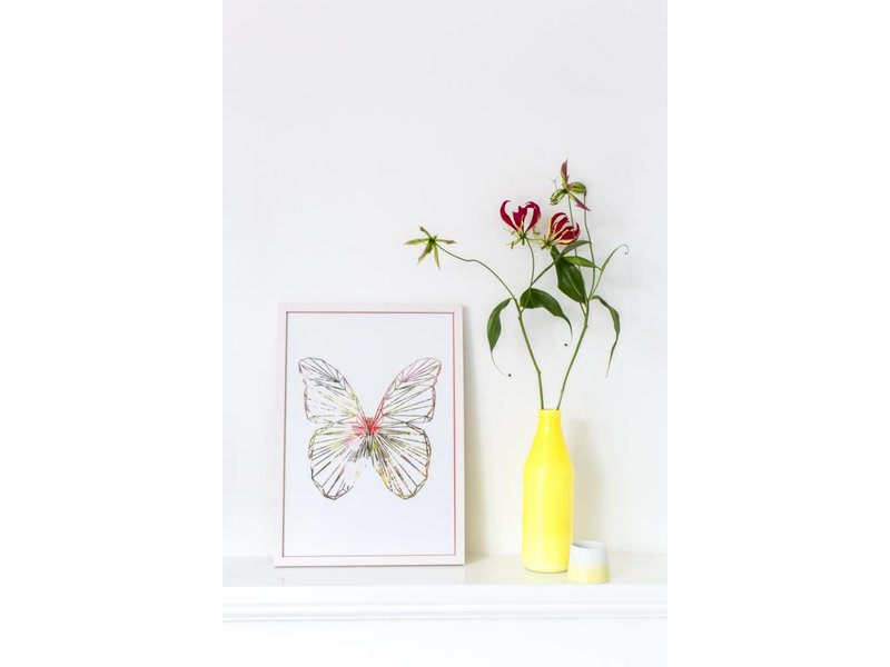 Sparkling Paper poster butterfly
