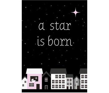Sparkling Paper 10 postkaarten a star is born pink