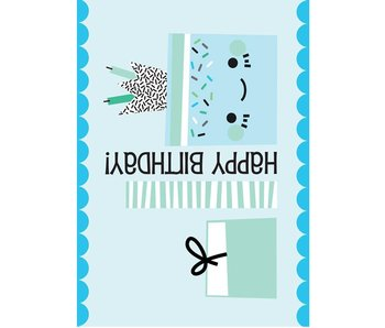 Sparkling Paper 10 cards happy birthday gift