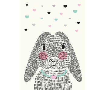 Sparkling Paper 10 postkaarten mrs. rabbit