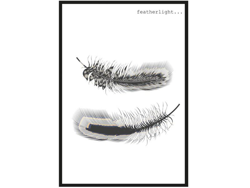 Sparkling Paper poster featherlight