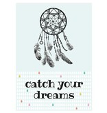 Sparkling Paper 10 postcards catch your dreams