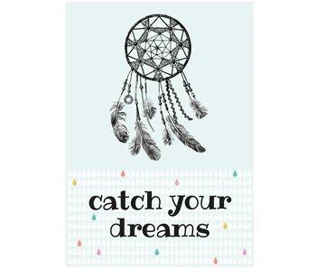 Sparkling Paper 10 postkaarten catch your dreams