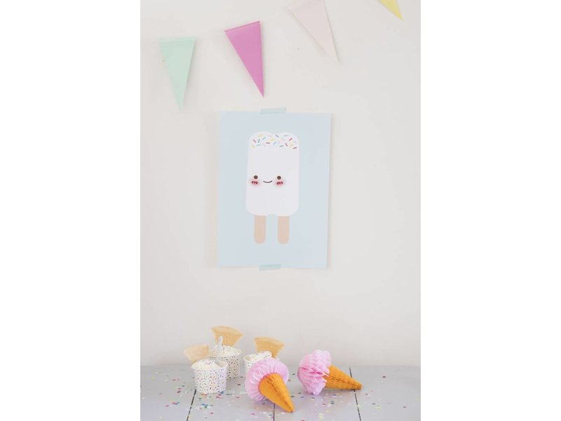 Sparkling Paper poster double stick icecream
