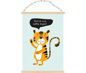 Sparkling Paper poster little tiger