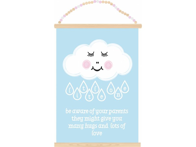 Sparkling Paper poster little one