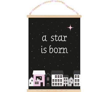 Sparkling Paper poster a star is born girl