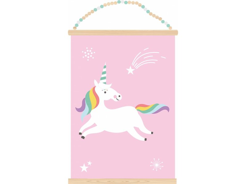 Sparkling Paper poster unicorn