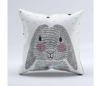 Sparkling Paper kussen mrs. rabbit (per 2 stuks)