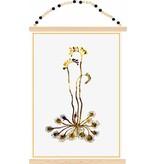 Sparkling Paper poster kangaroo plant