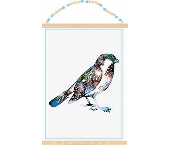 Sparkling Paper poster sparrow