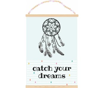 Sparkling Paper poster catch your dreams