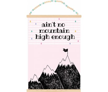 Sparkling Paper poster no mountain