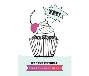 Sparkling Paper 10 postkaarten happy birthday any cake left