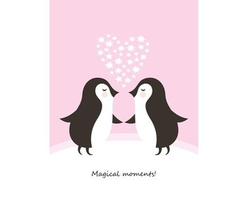 Sparkling Paper 10 postkaarten magical moments