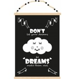 Sparkling Paper poster dreams make them real
