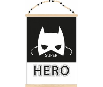 Sparkling Paper poster super hero