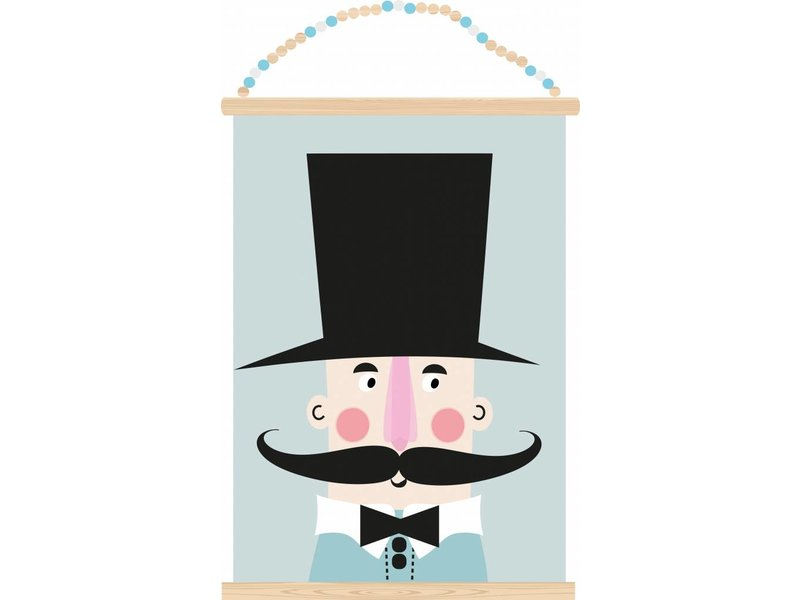 Sparkling Paper poster circus conductor