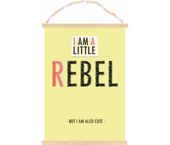 Sparkling Paper poster little rebel
