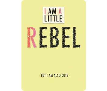 Sparkling Paper 10 A5 cards little rebel