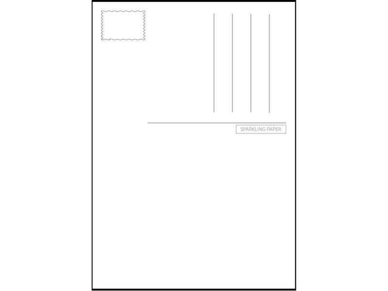 Sparkling Paper 10 postkaarten circus dirigent