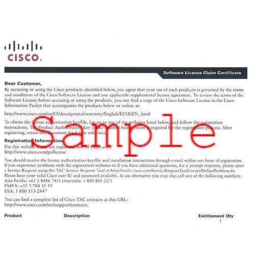Cisco ASA-CSC10-250U-2Y