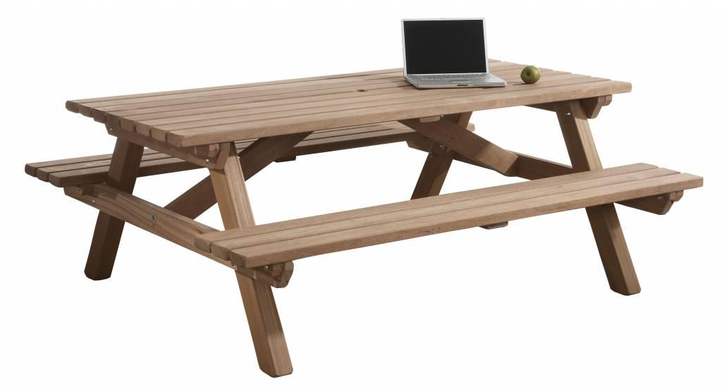 picknicktafel hardhout 160 x 200 cm leefhuus. Black Bedroom Furniture Sets. Home Design Ideas