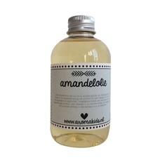 Biologische amandelolie koudgeperst 100 ml