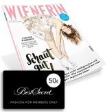 WIENERIN Jahresabo mit BestSecret-Gutschein im Wert von 50,- Euro