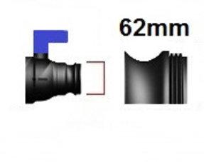 Verschlussdeckel Feingewinde mit 62mm