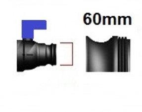 Verschlussdeckel Feingewinde 60mm