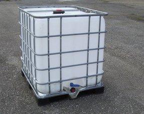 IBC Tank 1000L Neu, für Trinkwasser und Lebensmittel