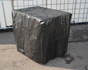 UV- Folien /Schutzhüllen für IBC Tanks und IBC Gitterboxen 600L bis 1000L