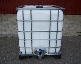 IBC Tank 1000L mit Algen/ UV-Schutz, gereinigt
