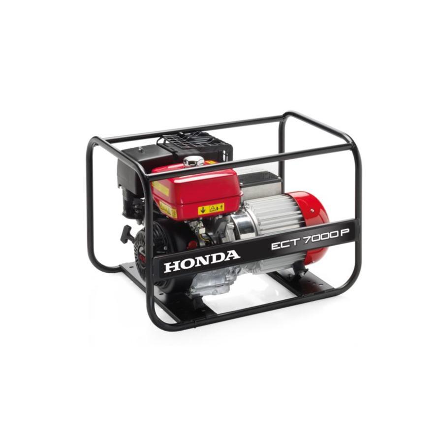 Honda Power Equipment Honda ECT 7000P - Mono/ 3-fasen , max. 7000W AVR-, waterbestendige generator