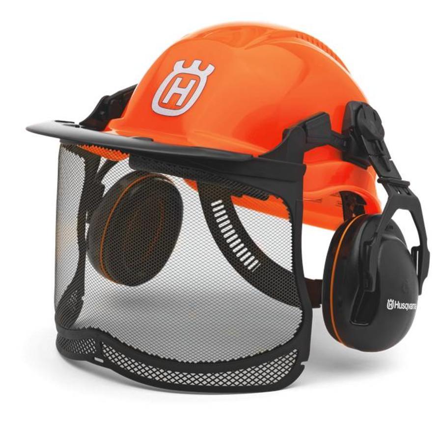 Husqvarna Husqvarna Functional Helm met gehoor -en gelaatbescherming