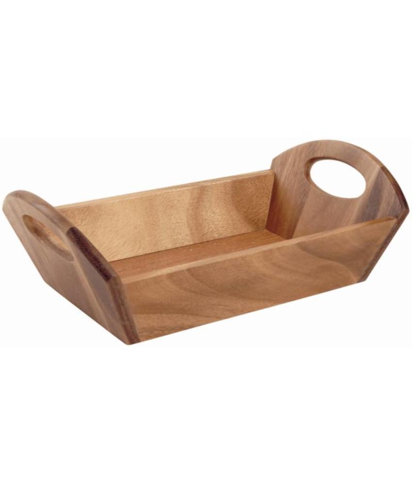T&G Woodware T&G Woodware houten broodschaal met handvatten acacia