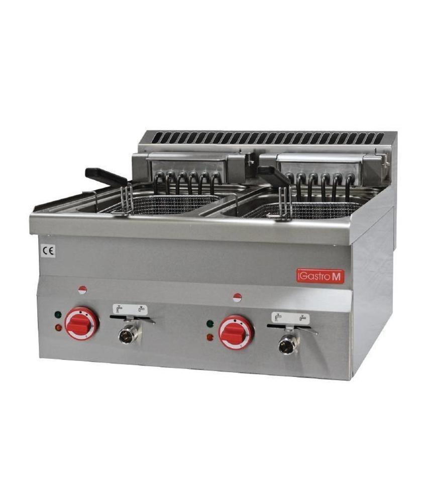 GASTRO-M Gastro M elektrische friteuse 2x 10L 60/60 FRE