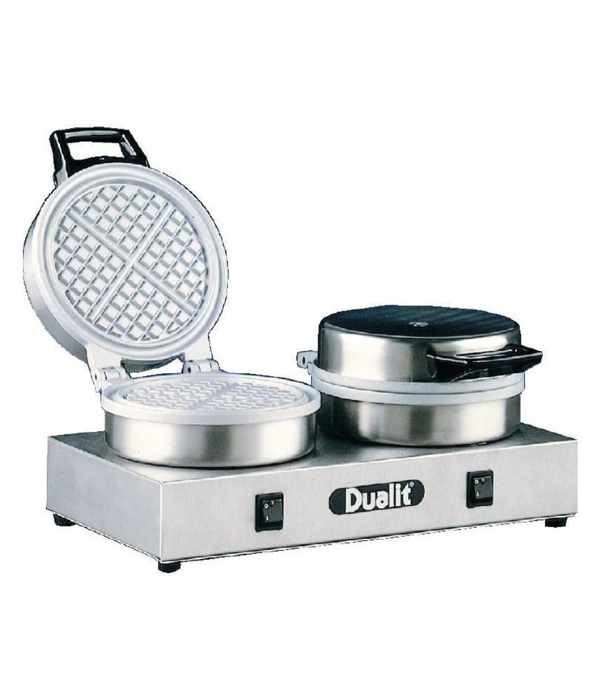 Dualit Dualit dubbel wafelapparaat 74002