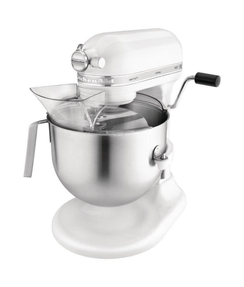 KitchenAid KitchenAid professionele mixer 6,9L wit 500W