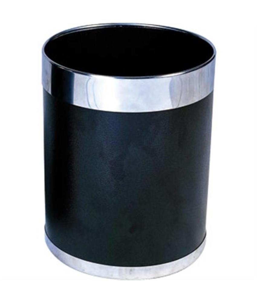Bolero Bolero prullenbak zwart met zilveren rand