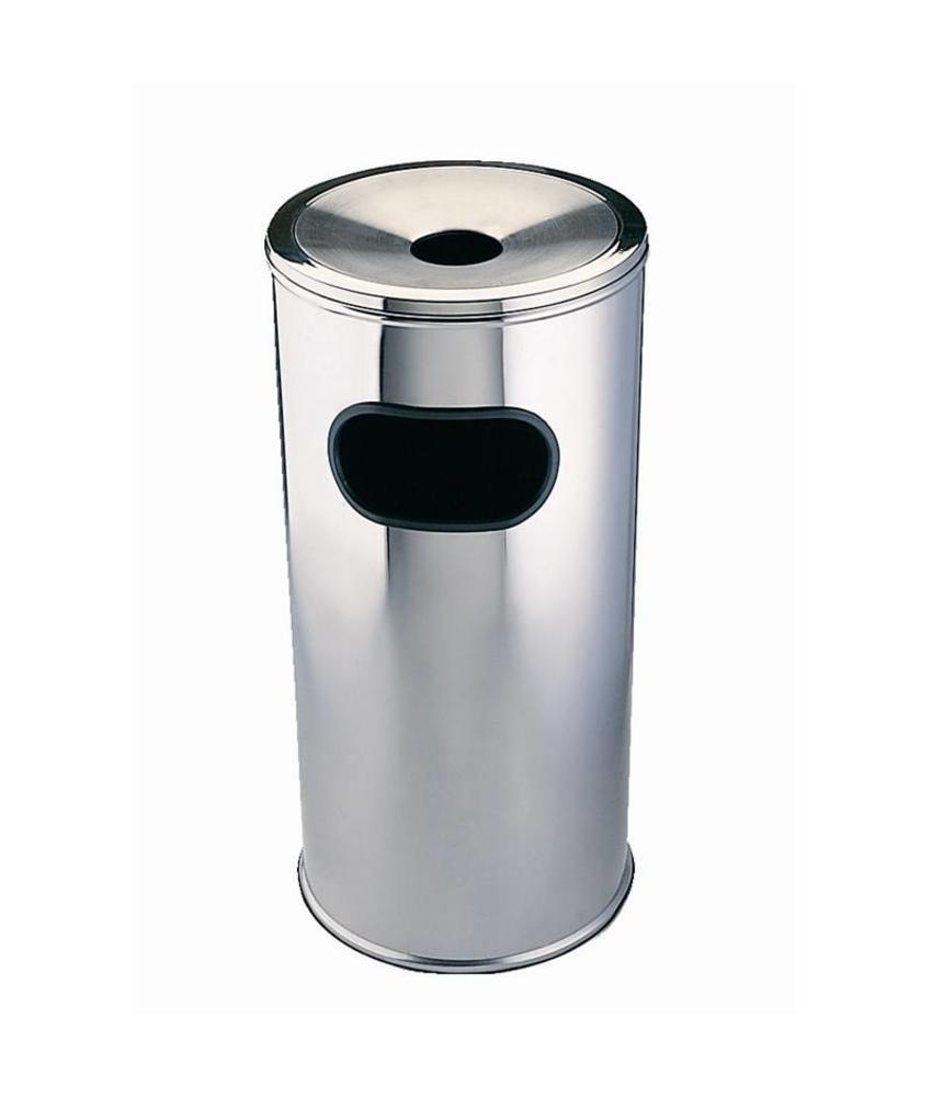 Bolero Bolero afvalbak met asbak klein