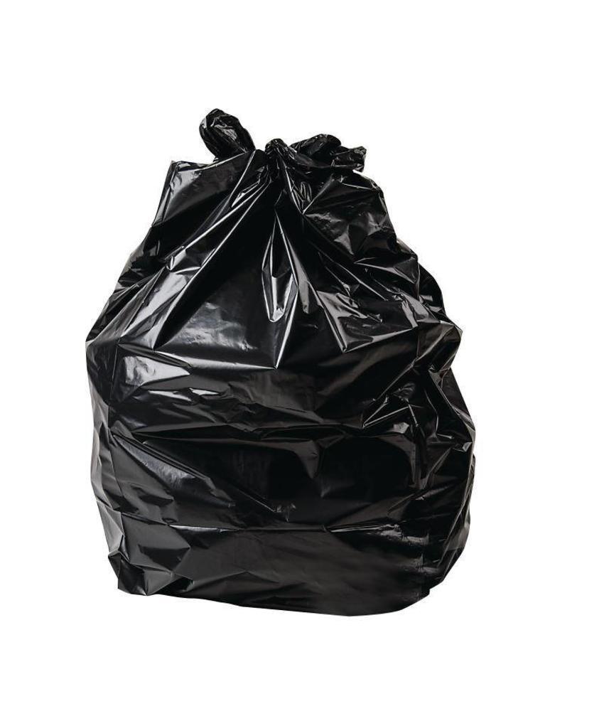 Jantex Jantex standaard kwaliteit vuilniszakken zwart 200 stuks 200 stuks