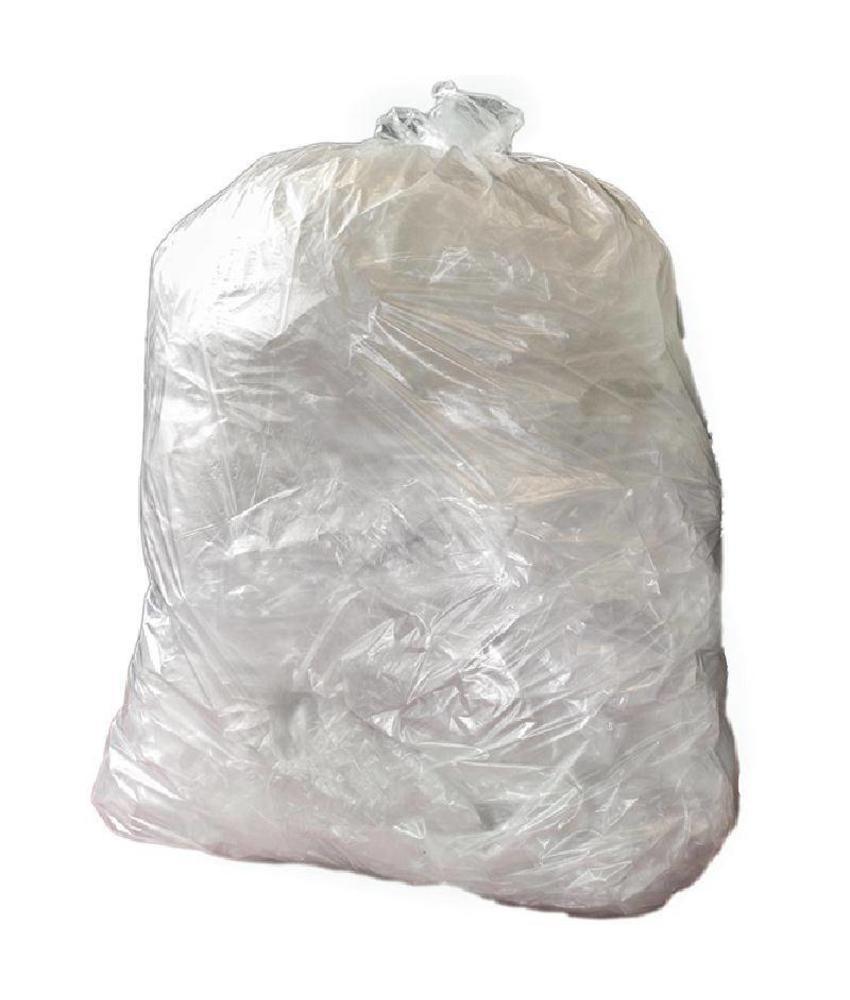 Jantex Jantex zware kwaliteit vuilniszakken transparant 200 stuks 200 stuks