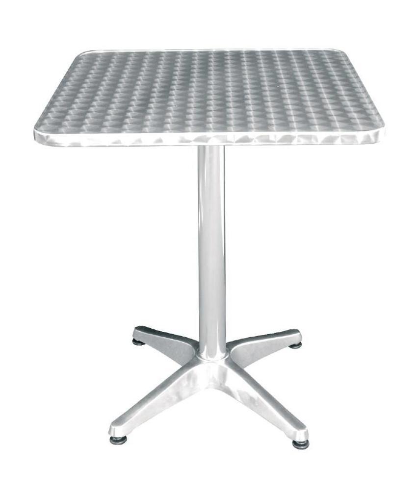 Bolero Bolero vierkante RVS tafel 60cm